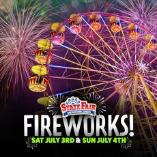 Fireworks at the State Fair!