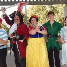 Things to do in Thousand Oaks, CA for Kids: Hook vs Pan-how it all began, Fairy Tales in the Park