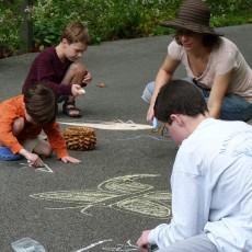 Things to do in Main Line, Pa for Kids: Sidewalk Chalk Walks, Jenkins Arboretum & Gardens