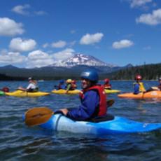 Things to do in Bend, OR for Kids: Kids Whitewater Kayaking Camp, Tumalo Creek Kayak & Canoe