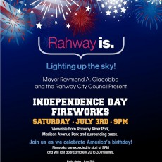 City of Rahway Fireworks Show!