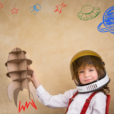 Things to do in Hulafrog at Home for Kids: Watch Rosie the Rocketeer Launch, NASA STEM