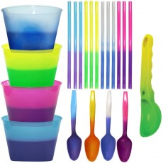 Color Changing Reusable Ice Cream Kit