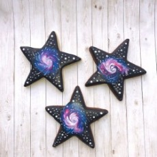 Things to do in Worcester, MA for Kids: Sip & Stars Cookie Decorating Class, Work of Art Cookies