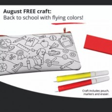 Things to do in Rock Hill, SC: Snag your Free Back to School Craft Kit