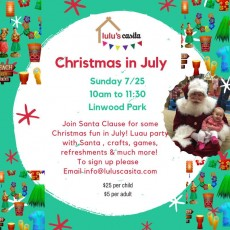 Things to do in Main Line, Pa for Kids: Christmas in July, Lulu's Casita - Ardmore