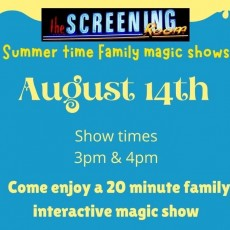 Things to do in Casa Adobes-Oro Valley, AZ for Kids: Family Magic Show, The Screening Room