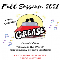 Fall Session: Grease Live!