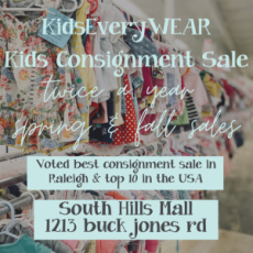 Apex-Cary, NC Events: Kids EveryWEAR Sale Fall 2021 - $5 Ticket Day