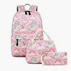Abshoo Lightweight Unicorn Backpack Set