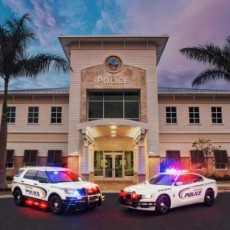 Things to do in Palm Beach Gardens, FL for Kids: National Night Out Parade Jupiter, Town of Jupiter and Jupiter Police Department