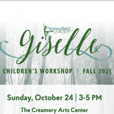 Things to do in Springfield, MO for Kids: Children's Workshop Series: Giselle, Springfield Ballet