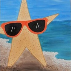 Things to do in Westfield-Clark, NJ: KIDS CANVAS CLASS: STYLIN' STARFISH!