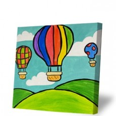 Things to do in Westfield-Clark, NJ: KIDS CANVAS CLASS: SCENES FROM A BALLOON!