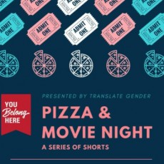 Pizza & Movie Night with Translate Gender