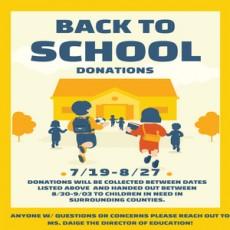 GLA Back to School Donation