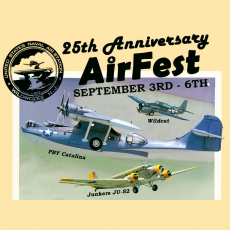 Things to do in Cape May County, NJ for Kids: 25th Anniversary AirFest, Naval Air Station Wildwood Aviation Museum