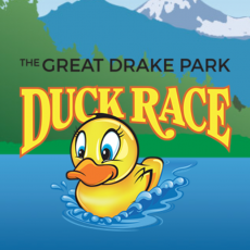 Things to do in Bend, OR for Kids: The Great Drake Park Duck Race, The Great Drake Park Duck Race