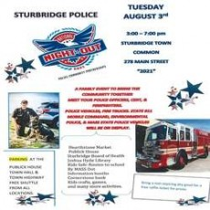 Things to do in Worcester, MA: National Night Out (Sturbridge)
