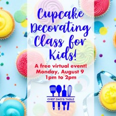 Things to do in Main Line, Pa for Kids: Cupcake Decorating Class for Kids!, Chef Dad's Table