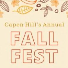 Capen Hill's Annual Fall Fest