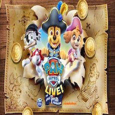 Things to do in Birmingham, AL for Kids: PAW Patrol Live! The Great Pirate Adventure, The BJCC