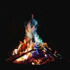 Magical Flames Colorful & Vibrant Flames