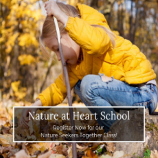 Nature Seekers Together  Class Ages 2-5