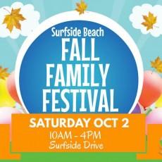 Things to do in Myrtle Beach, SC for Kids: Surfside Beach Fall Family Festival, Town of Surfside Beach