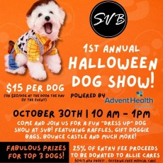 1st Annual Halloween Dog Show
