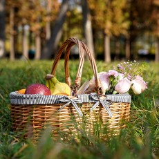 Willow Hand Woven Basket