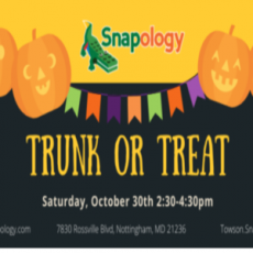 Things to do in Towson, MD for Kids: Trunk or Treat, Snapology of Towson-Perry Hall