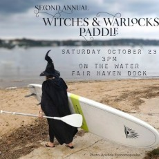 Witches and Warlocks Paddle