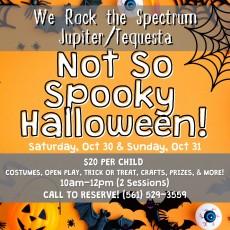 Not So Spooky Halloween Bash!