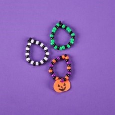 Things to do in Myrtle Beach, SC for Kids: Take & Make: Halloween Pony Bead Bracelet, Michaels - Myrtle Beach