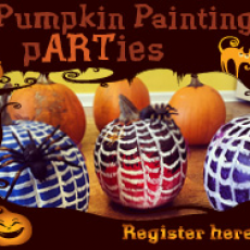 10th Annual Pumpkin Painting pARTy! (FAMILY DAY)