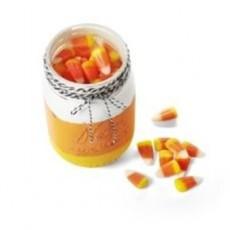 Create a Candy Corn Painted Mason Jar