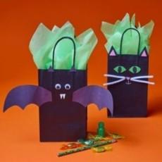 Grab a Free Take & Make Halloween Treat Bag