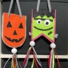Create a Halloween Pennant