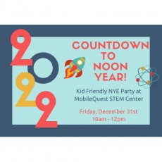 Things to do in Warwick, RI for Kids: Countdown to NOON Year!, MobileQuest STEM Center
