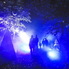 Things to do in Olathe, KS for Kids: Terra Luna: A Light and Sound Experience, Overland Park Arboretum & Botanical Gardens