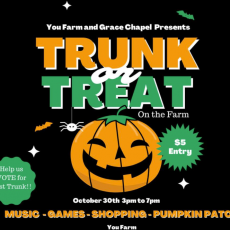 Farm Pumpkin Festival and Trunk or Treat Bash