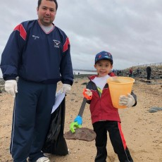 Cape May Harbor Beach Sweep and Community Clean-Up