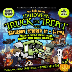 Things to do in Warwick, RI for Kids: The 6th Annual Halloween Truck or Treat, Thayer Ice Arena