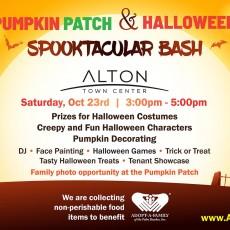Pumpkin Patch & Halloween Spooktacular Bash - Registration Required