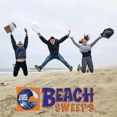 Things to do in Cape May County, NJ for Kids: Clean Ocean Action Fall Beach Sweeps, Clean Ocean Action