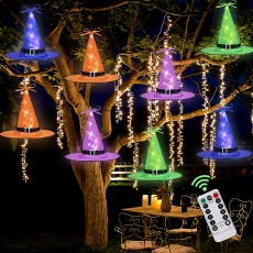 Witch Hat String Lights