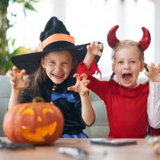 Pumpkin Kits + Halloween Decorations