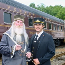 Things to do in Cape May County, NJ for Kids: Ride The Wizard Express (11AM, 1:30PM & 4PM), Cape May Seashore Lines