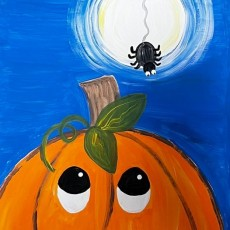 Things to do in Mansfield-Attleboro, MA for Kids: Halloween Virtual Paint Night , Heartwork Studio